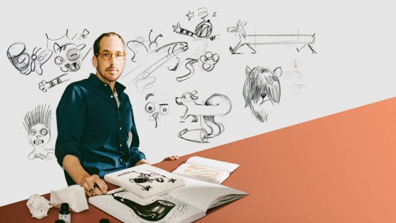 Hembuskan Nyawa dalam Gambar, Kisah Ilustrator Cristoph Niemann Dalam Pembuatan Aplikasinya.