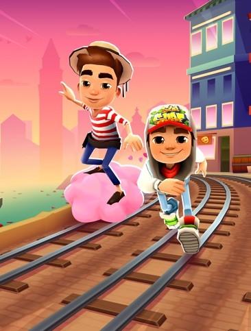 Subway-Surfers1 Melaju Lebih Cepat dari MRT: Meluncur Cepat di Atas Rel Kereta Thailand Dalam Subway Surfers.